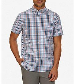 Nautica® Men's Classic Fit Maritime Plaid Shirt