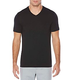 Perry Ellis® Men's Short Sleeve Pima Cotton Vneck Tee