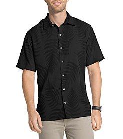 Van Heusen® Men's Short Sleeve Leaf Jacquard Button Down