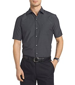 Van Heusen® Men's Short Sleeve Traveler Air Grid Point Collar Shirt