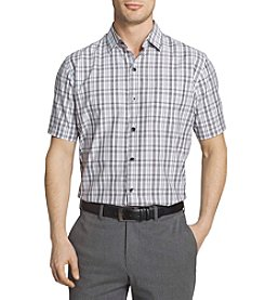 Van Heusen® Men's Short Sleeve Air Plaid Polo Shirt