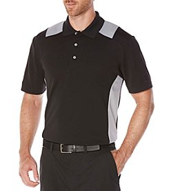 PGA TOUR® Men's Big & Tall Colorblocked Airflux Stripe Polo