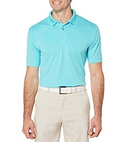 PGA TOUR® Men's Big & Tall Performance Solid Polo Shirt