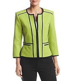 Kasper® Honeydew Zip Jacket