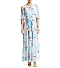 Calvin Klein Floral Print Maxi Dress