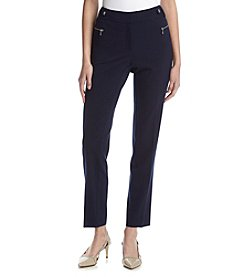 Calvin Klein Buckle Zip Pants