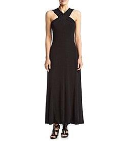 MICHAEL Michael Kors® Cross Neck Maxi Dress