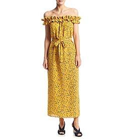 MICHAEL Michael Kors® Ruffled Printed Maxi Dress