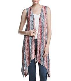 Ruff Hewn Print Knit Vest