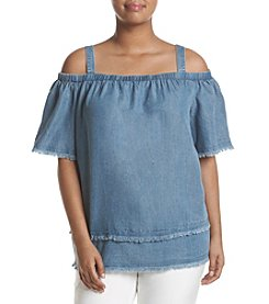 Rafaella® April Tencel Off The Shoulder Blouse