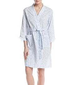 Miss Elaine® Daisy Printed Robe