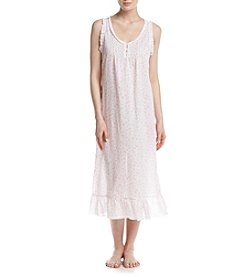 Miss Elaine® Daisy Printed Night Gown