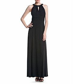 NW Collections  Long Ruched Dress
