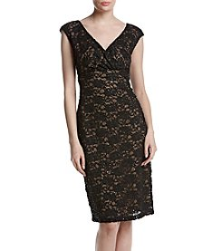 Connected® Lace Sequin Dress
