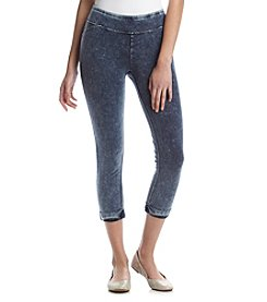 Marc New York Performance Knit Denim Crop Leggings