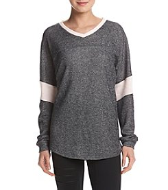 Jessica Simpson - The Warmup Drop Shoulder Varsity Top