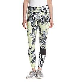 Jessica Simpson The Warmup Floral Print Blocked Leggings