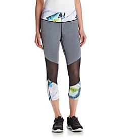Jessica Simpson - The Warmup Capri Leggings with Mesh Knee