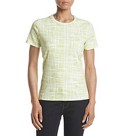 Studio Works® Petites' Short Sleeves Crew Neck Tee