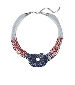 Studio Works® Knotted Seed Bead Necklace