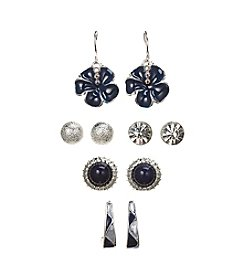 Studio Works 5 Pair Earrings Set