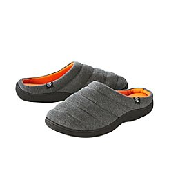 Isotoner Signature® Men's Heathered Sport Slippers