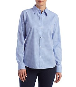 Chaps® Gingham Top