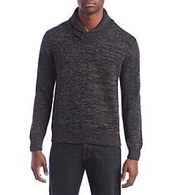 Weatherproof® Men's Cotton Shawl Collar Sweater