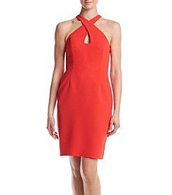 Calvin Klein Cross Neck Dress