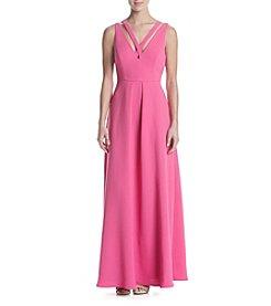 Calvin Klein Long Matte Jersey Dress