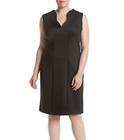 Calvin Klein Plus Size Seamed Dress
