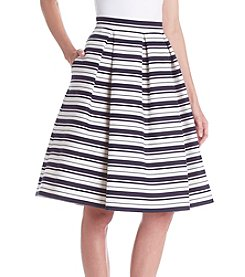 Eliza J® Stripe Midi Skirt