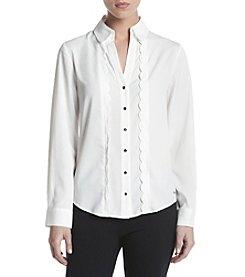 Ivanka Trump® Ruffle Shirt