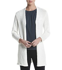 Kasper® Textured Cardigan Jacket