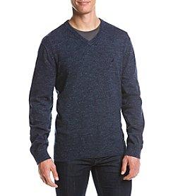 Nautica® Men's Snowy V-Neck Sweater