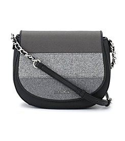 Calvin Klein Saffiano Saddle Bag