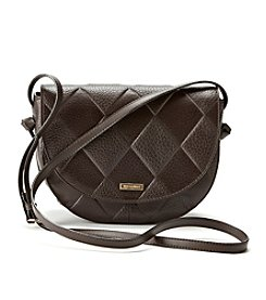 Tignanello® In Knots Embossed Saddle Bag