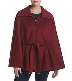 Calvin Klein Belted Cape Coat