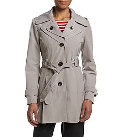 London Fog® Double Collar Trench Coat