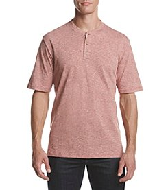 Weatherproof® Men's Short Sleeve Space Dye Pique Pocket V-Neck Tee