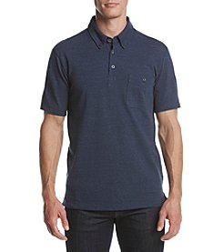 Weatherproof® Men's Short Sleeve Melange Pique Polo