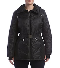 MICHAEL Michael Kors® Belted Oversize Down Jacket