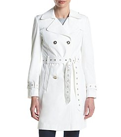 Ivanka Trump® Double Breasted Trench Coat