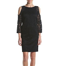 Nine West® Cold Shoulder Lace Dress