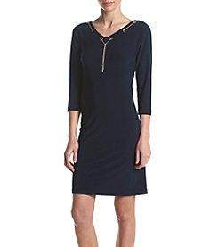 Nine West® V-Neck Dress