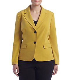 Nine West® Plus Size Two Button Jacket