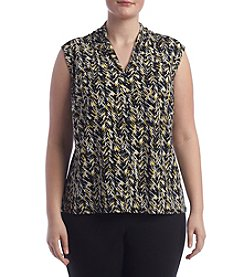 Nine West® Plus Size Print Cami