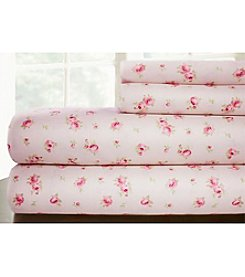 Pacific Coast Textiles® Sweet Rose Printed Sheet Set