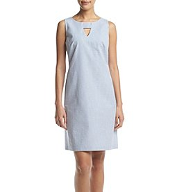 Nine West® Blue Shft Dress