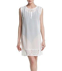 Miken® Lace Trim Coverup Tunic
